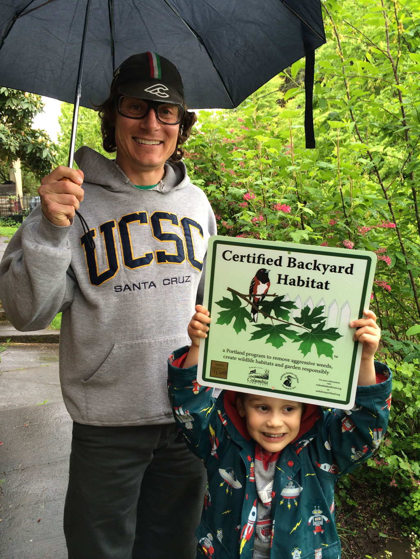 backyard habitat certification program clackamas swcd