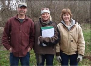Pete Haushalter, Jenne Reische and Carrol Haushalter
