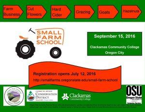 Small Farm School flyer 2016-2