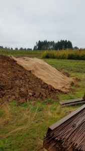 Special fabric covers exposed soil, reducing erosion.