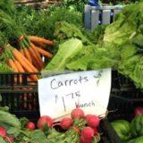 Produce from the Lake Oswego Farmers Market.