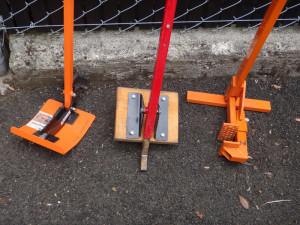 Tools that remove woody invasive plants