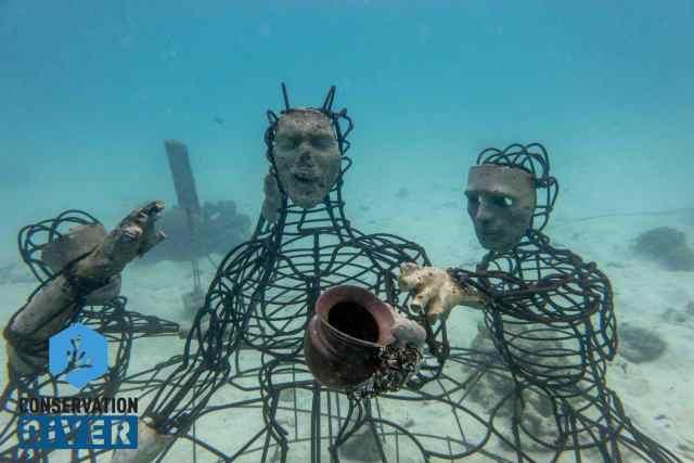 Underwater Electrified Sculpture