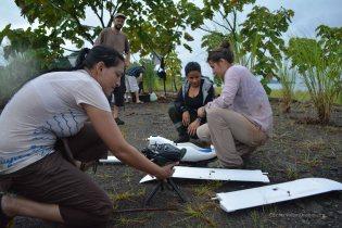 Assembling the UAV