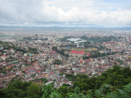 View of Tana from the top