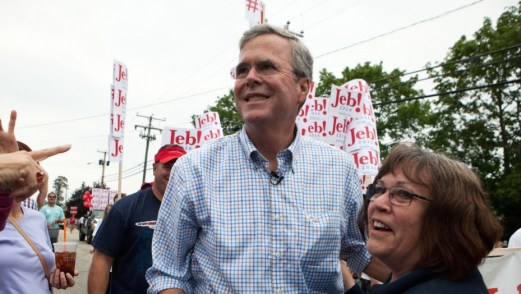 3 percent of Jeb Bush donors are small contributors