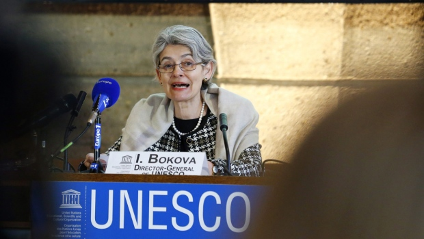 "UNESCO director condemns ""cultural cleansing of Iraq"" as a war crime"