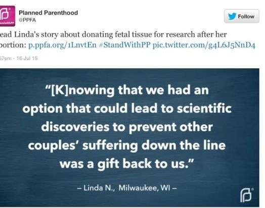 Linda stories planned parenthood