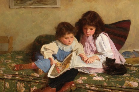 carlton_alfred_smith2c_1893_-_the_first_lesson
