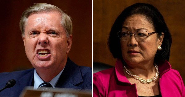WATCH: Lindsey Graham Snaps Back At Dem Colleague Who Said ...