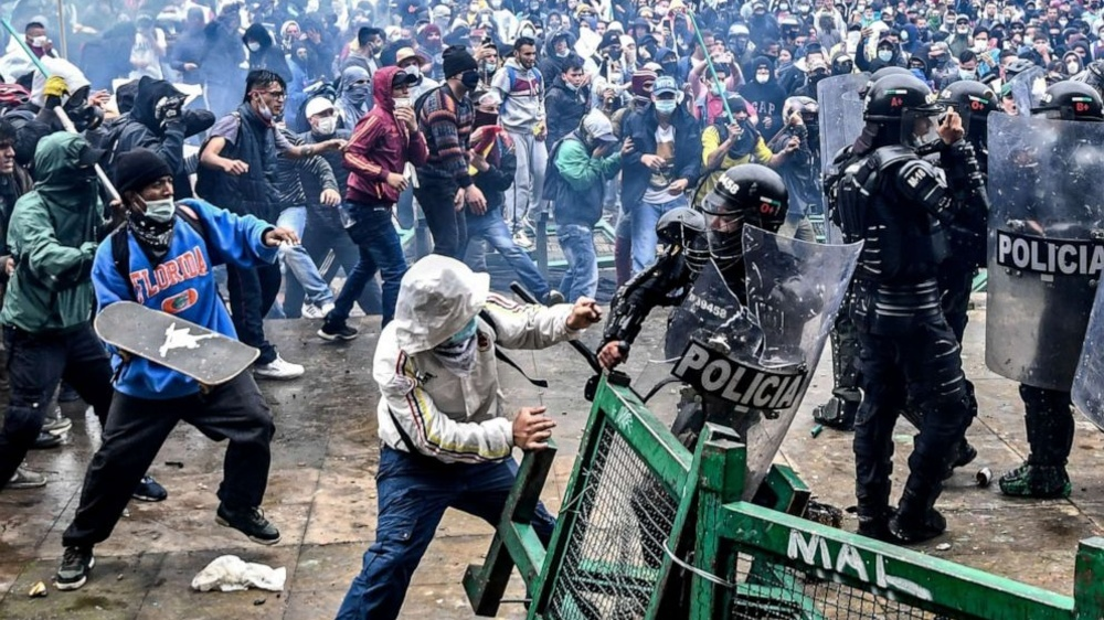Colombia Today is America's Future if BLM and Antifa aren't Contained