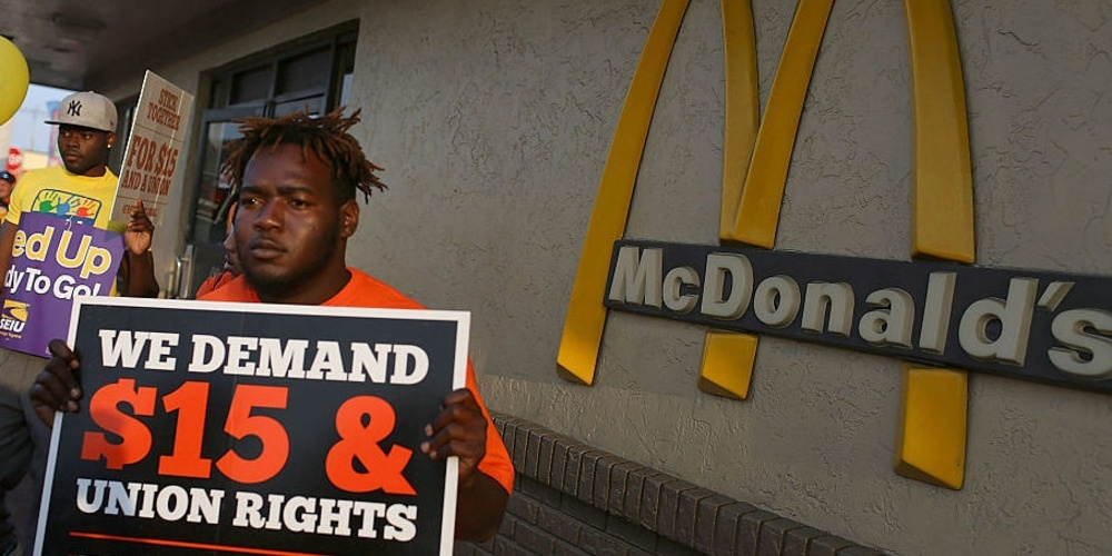 McDonald's Workers Set To Strike For Higher Wages Ahead Of Shareholders Meeting