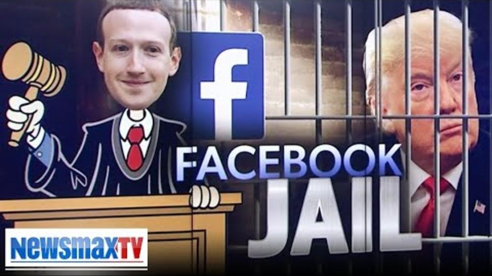 Newsmax Rob Schmitt_ Trump, go directly to Facebook jail