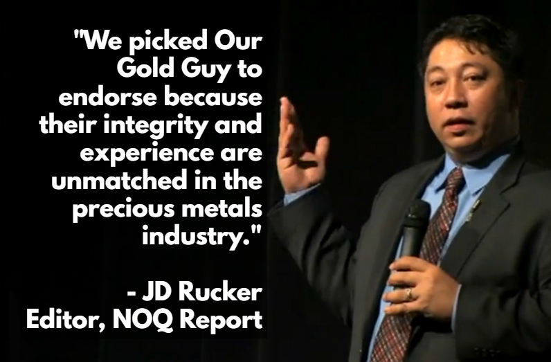 Our Gold Guy JD Rucker