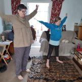 Gracie F - Keeping Gran fit with Joe Wicks