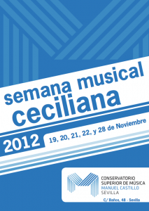 Semana musical Ceciliana 2012