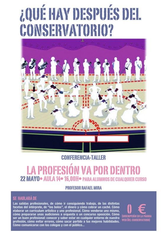 Cartel La PROFESIÓN2011.pages
