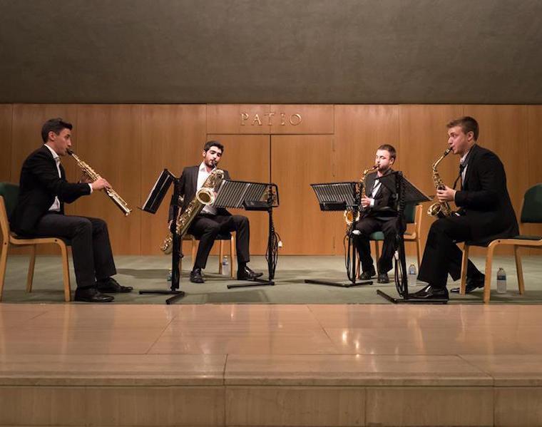 """Ensemble De Saxofones del C.S.M. """"Manuel Castillo"""""""