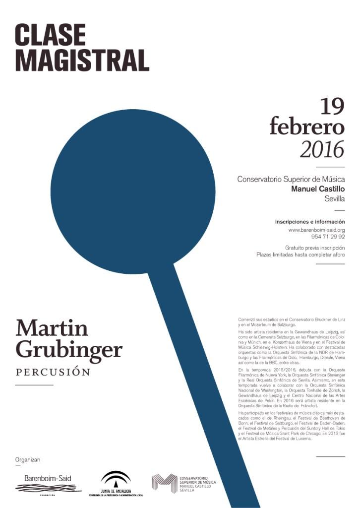 Masterclass Martin Grubinger