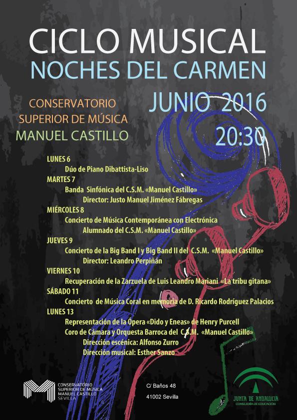 Noches del Carmen 2016