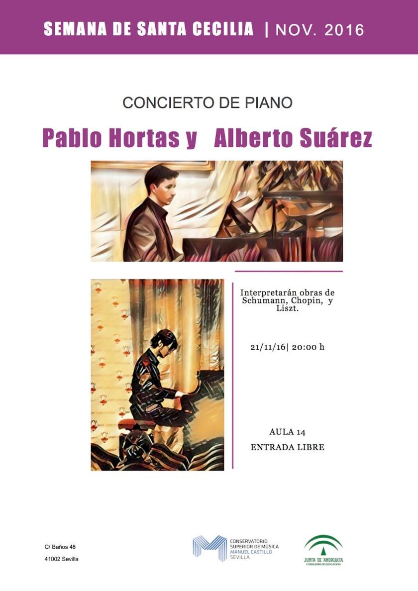 Pablo Hortas y Alberto Suárez