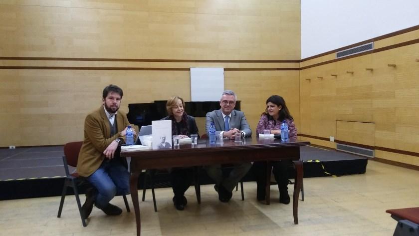 Presentación en Madrid del libro «En torno a Manuel Castillo»