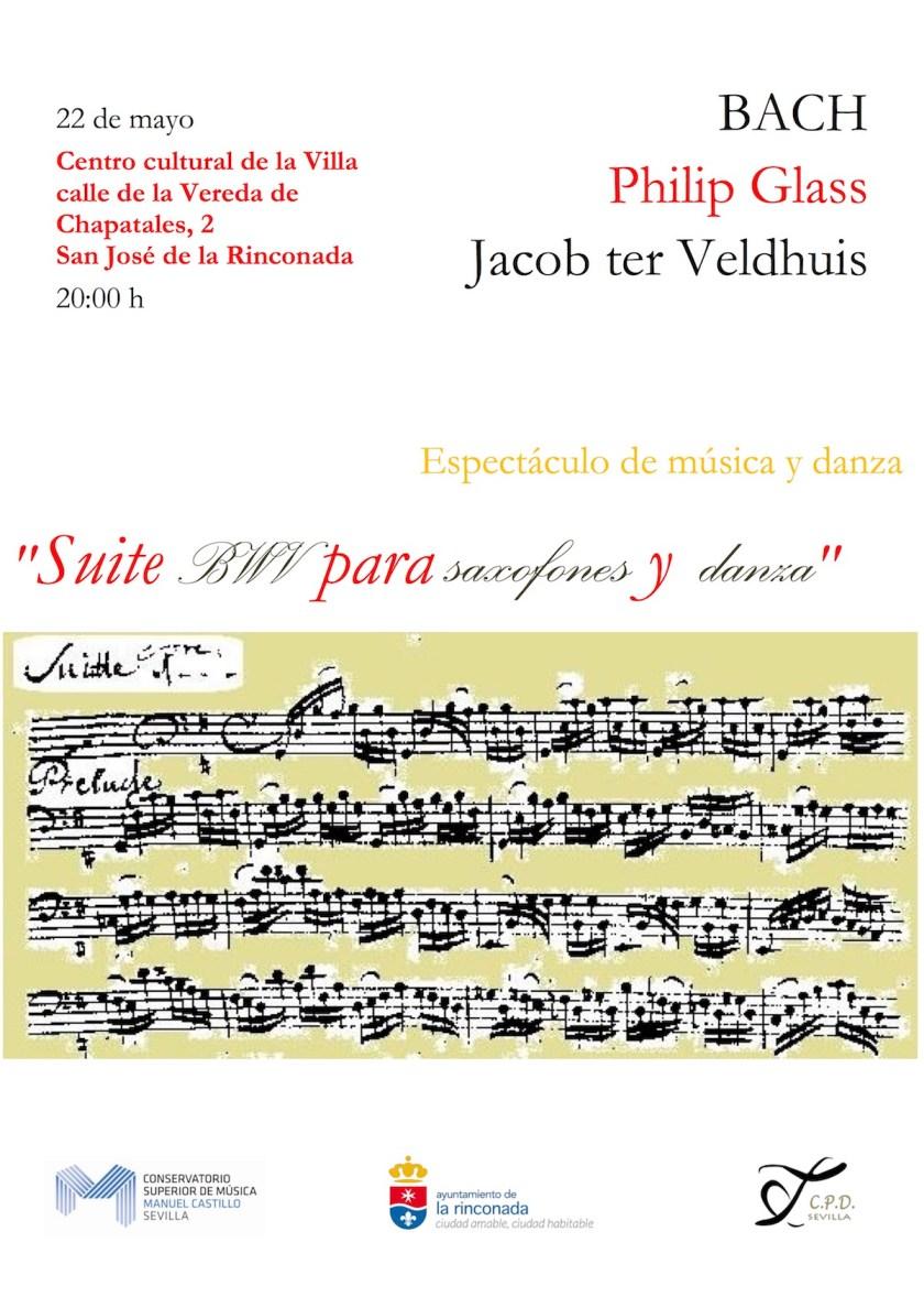 Suite BWV para saxofones y danza