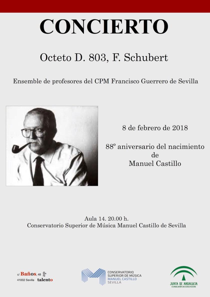 Concierto 88 aniversario Manuel Castillo