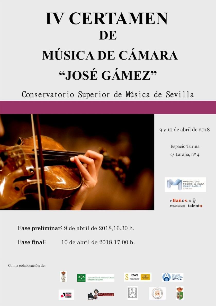 IV Certamen de Música de Cámara «José Gámez»