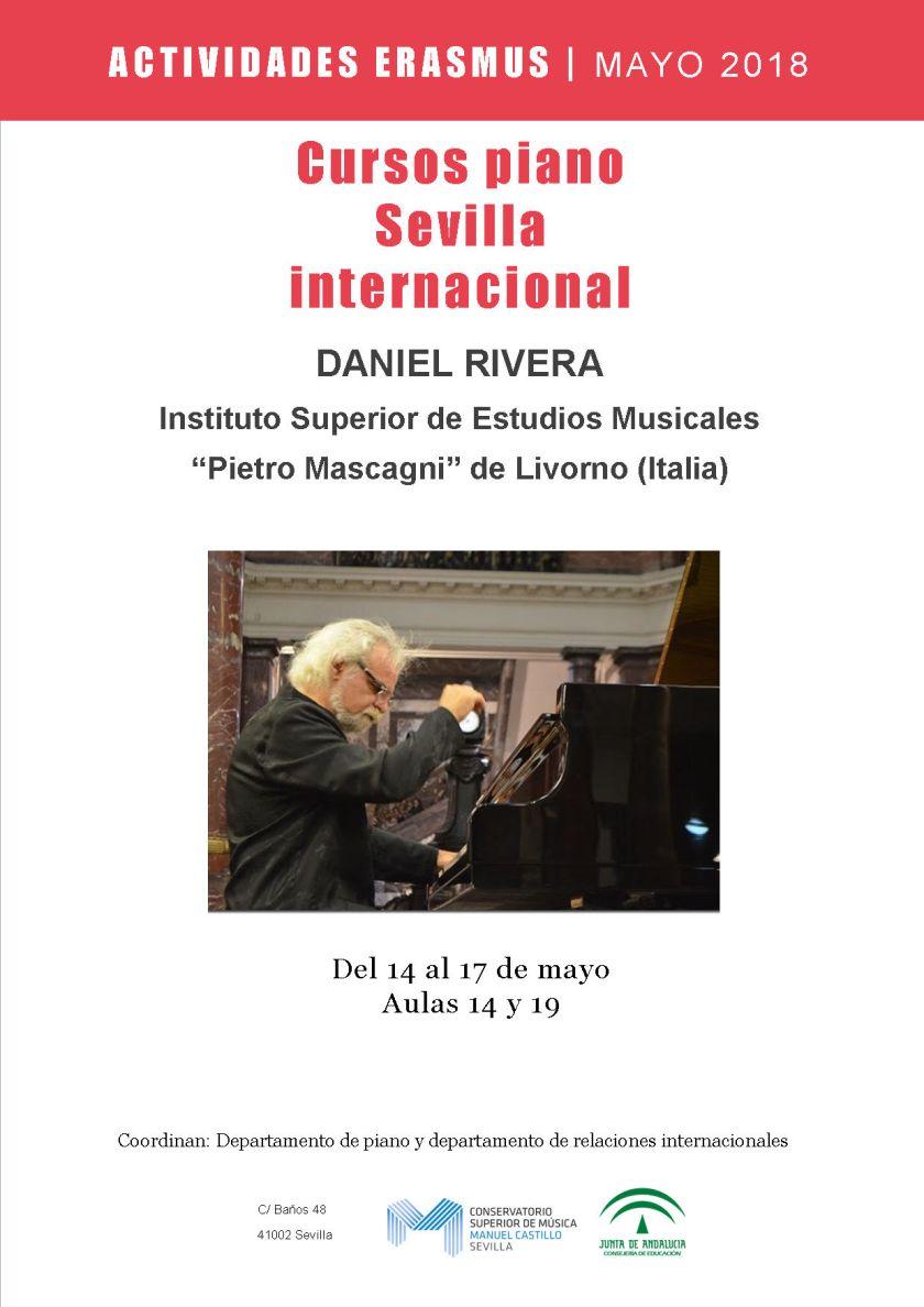 Masterclass de piano —Daniel Rivera