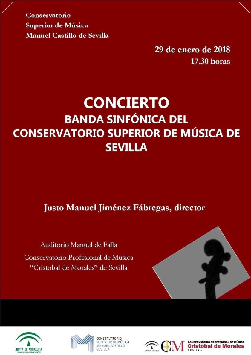 Concierto de la Banda Sinfónica de Música del conservatorio