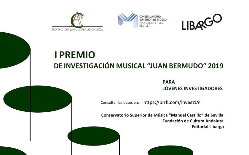 I Premio de Investigación Musical «Juan Bermudo» 2019