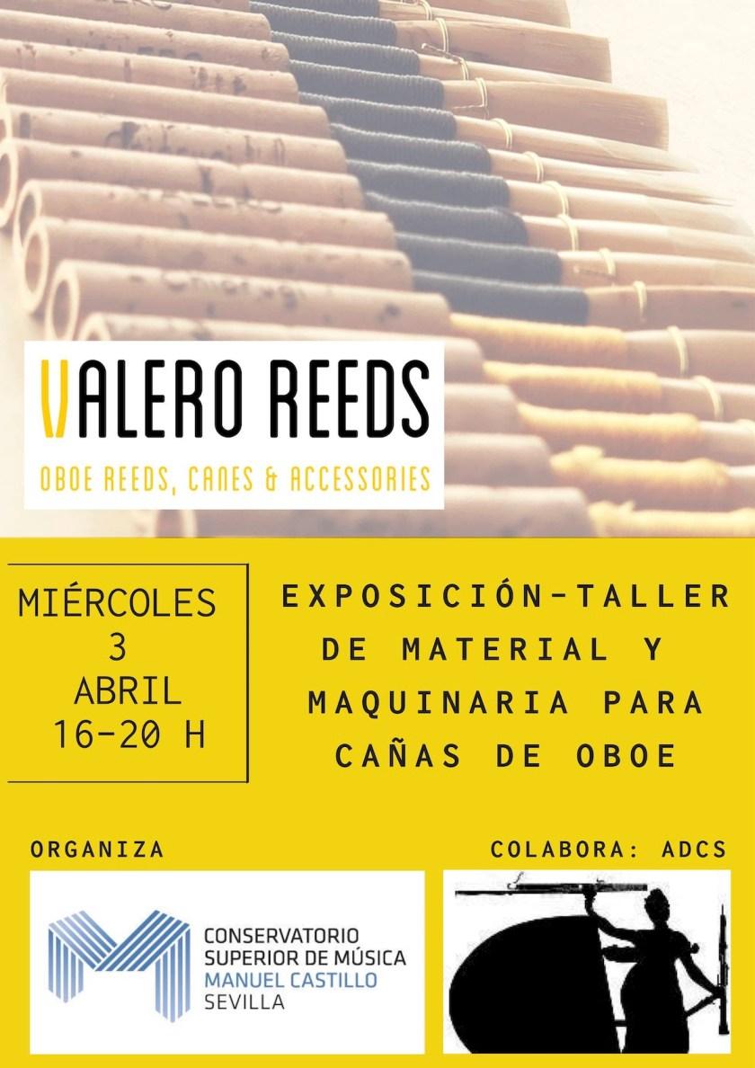 Exposición: confección de cañas de oboe — Valero Reeds