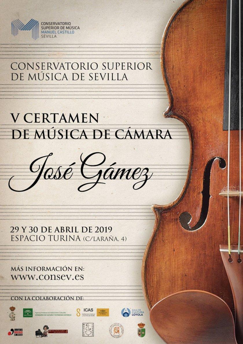V Certamen de Música de Cámara «José Gámez»