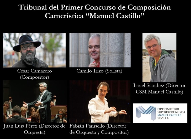 Tribuanl Concurso Composicion Cameristica Manuel Castillo