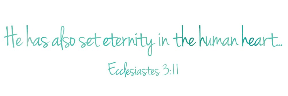 Considering Eternity
