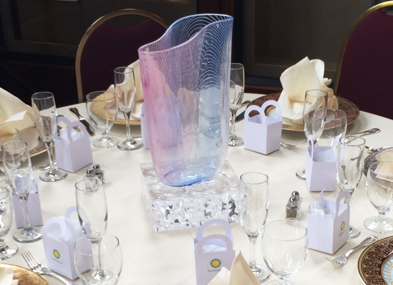 Consider it Done provided Seguso glass at Smithsonian Womens Committee 50th Anniversary