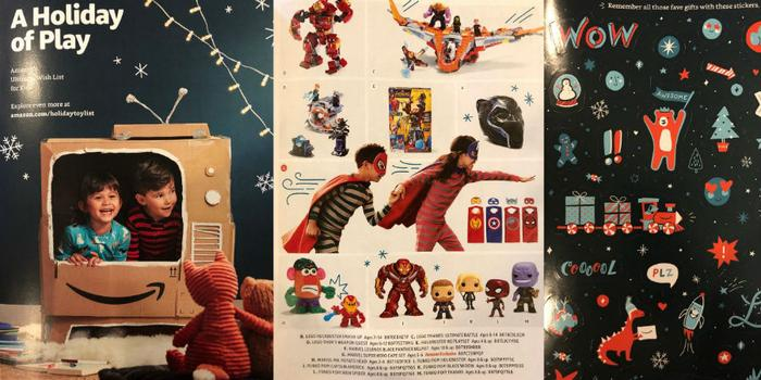 A Holiday Of Play An Amazon Toy Catalog Is Revealed consider the consumer