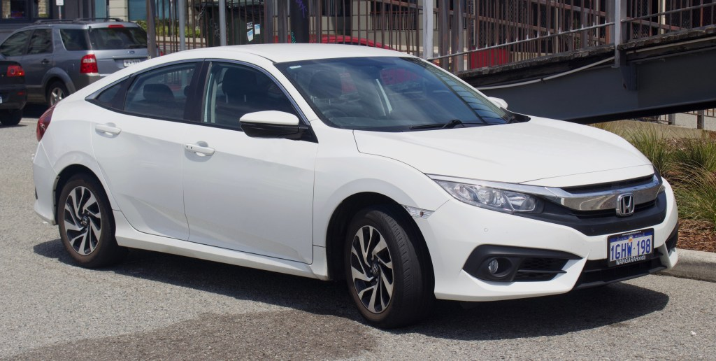 Honda Civic Visor Recall