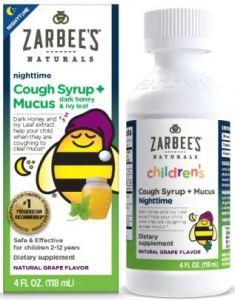 Zarbee's Nighttime Syrup + mucus product Class Action Lawsuit