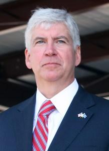 State Governor Rick Snyder