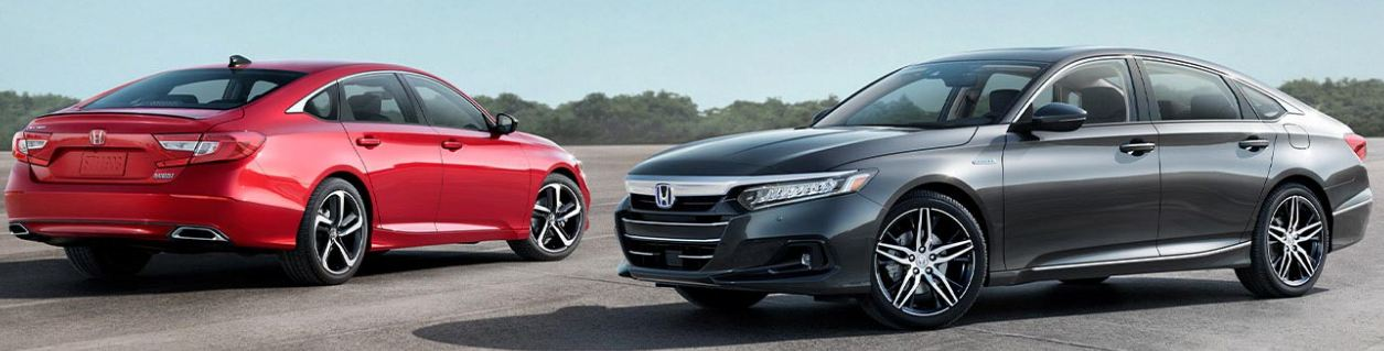 2021 Hybrid Vs Sport Accord