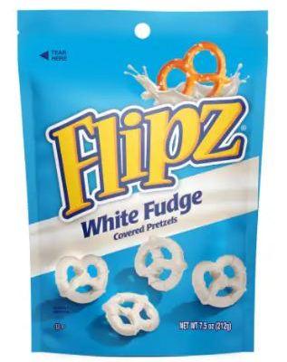 Flipz White Fudge Covered Pretzels Class Action Lawsuit 2021 - Using Vegetable Oils & Not Enough Fudgy
