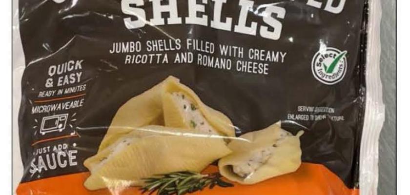 HEB Jumbo Stuffed Shells Recall 2021 - Unwanted Metals In Your Food