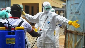 Suiting up for Ebola