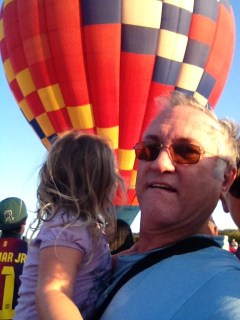 First balloon encounter!