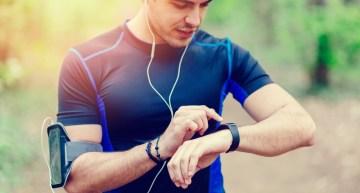 Orologio da running per misurare le attività fisiche