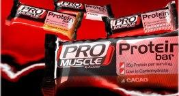 """Barrette proteiche """"pro muscle"""""""