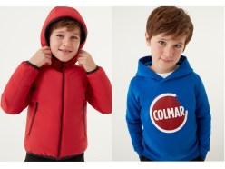 Colmar collezione abbigliamento KIDS bambino 4-16 anni autunno inverno 2020/2021