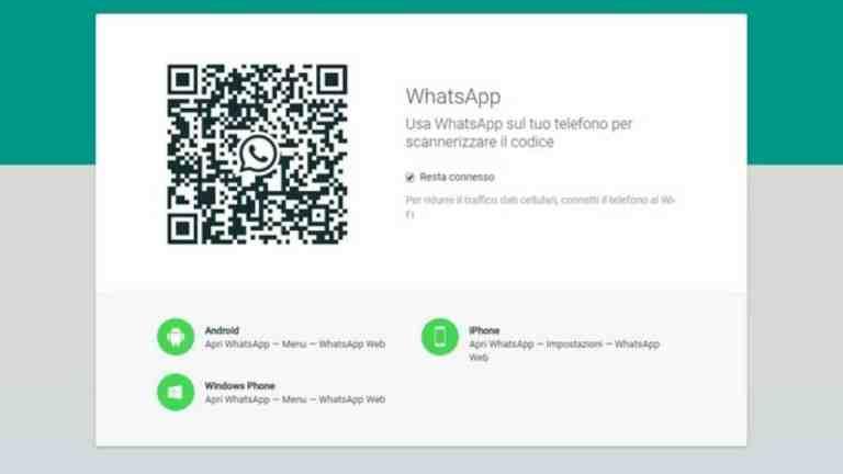 Come usare Whatsapp tramite computer.